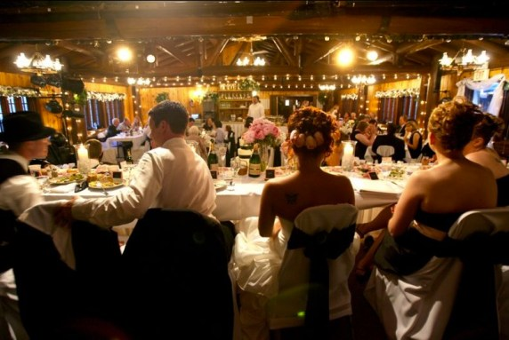 White Pines Inn Rustic Chic Wedding Venue Reception