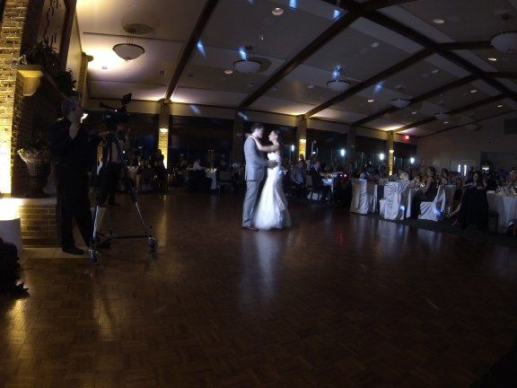 First Dance at the Cantigny Park Wedding