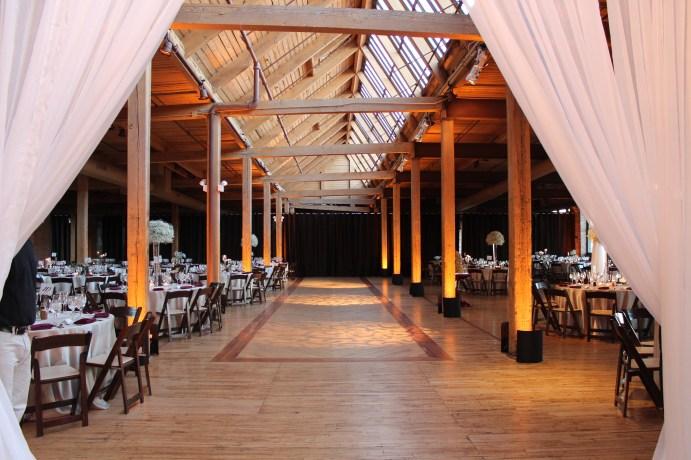 Bridgeport Art Center Wedding with Chicago Wedding Lighting
