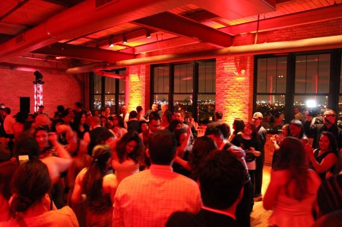 Dancing at the Bridgeport Art Center Wedding