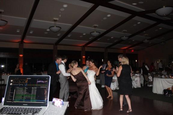 Chicago Wedding Dance Floor at the Cantigny Park Wedding