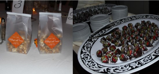 Late night snack at Cantigny Park Wedding