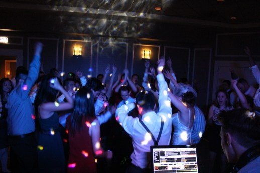 Spiaggia Wedding Dance Floor with Chicago Wedding DJ