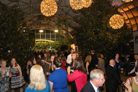 Dancing at the Garfield Park Conservatory Wedding