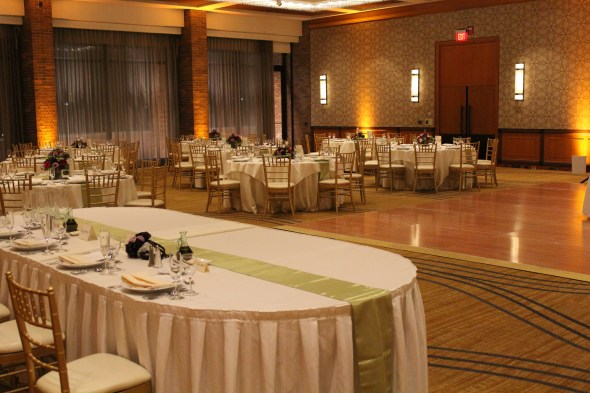 Hyatt Lodge Wedding Lighting