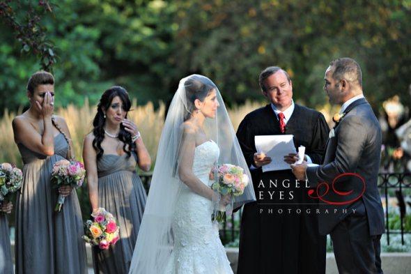 Newberry Library and Washington Square Park Wedding Ceremony