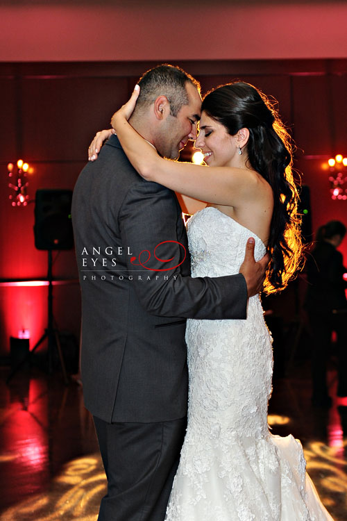 Bride and Groom First Dance at Newberry Library Wedding