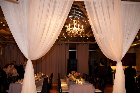 Loft on Lake Wedding Reception Space