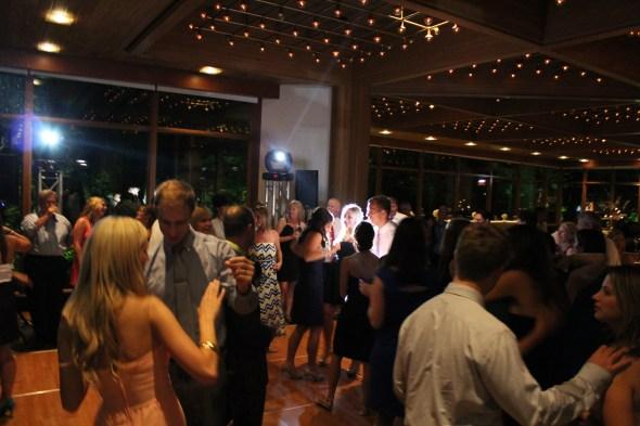Dancing at the Oak Brook Hyatt Lodge Wedding