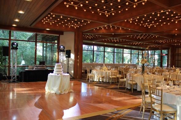 Chicago wedding lighting a the Oak Brook Hyatt Lodge
