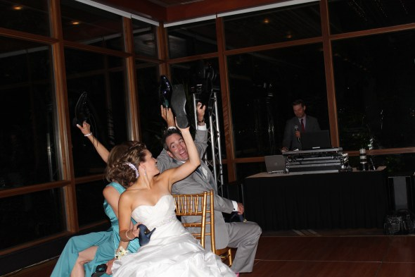 Newly Wed Game at the Oak Brook Hyatt Lodge