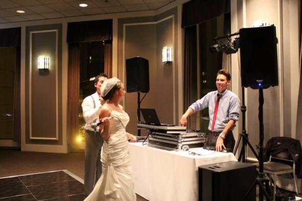 Bride and MDM DJ Nick