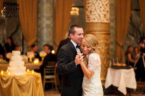 Dan and Megan's First Dance at Their Drake Hotel Wedding