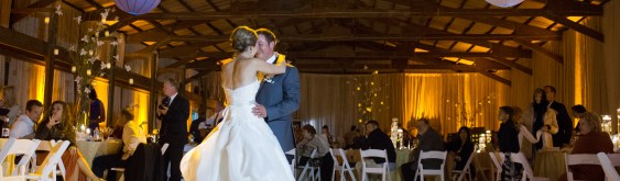Gettin Hitched!  Natasha and Josh's Barn Wedding Lighting and Drape
