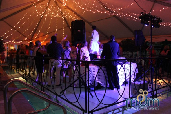 MDM Entertainment Backyard Wedding