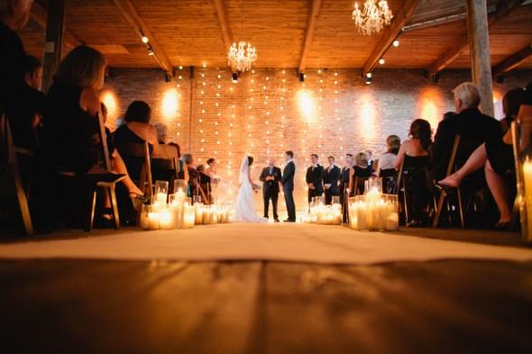 Gallery 1028 Chicago Loft Wedding Venue Lighting