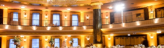 Intercontinental Chicago Wedding Drape and Lighting