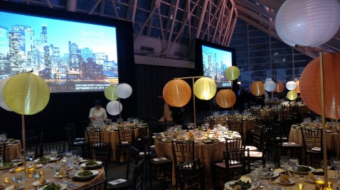 AV for a Corporate Event at Adler Planetarium in Chicago