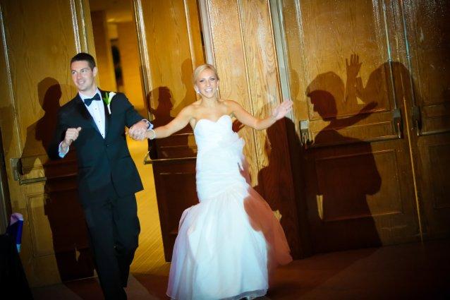 Autumn and Rick Wedding Intro with Spotlight