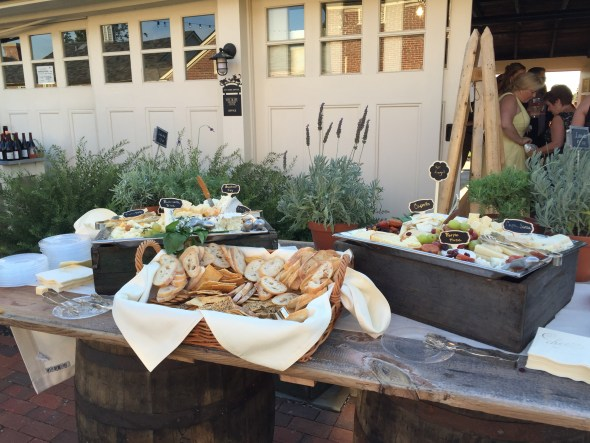 Barn Wood and Barrel Table Top for A Rustic Chic Wedding