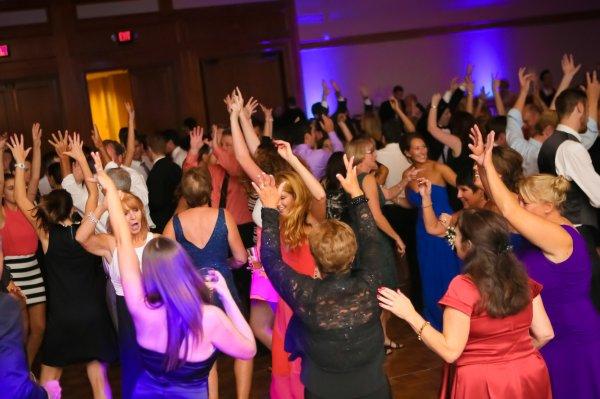 Dancing at Autumn and Ricks Wedding