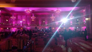 Lighting for a Palmer House Holiday Party