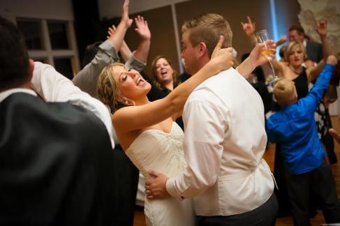Metropolis Ballroom Wedding Reception DJ