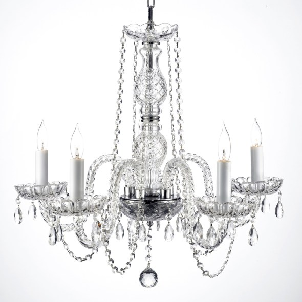 24 Inch Crystal Wedding Chandeliers
