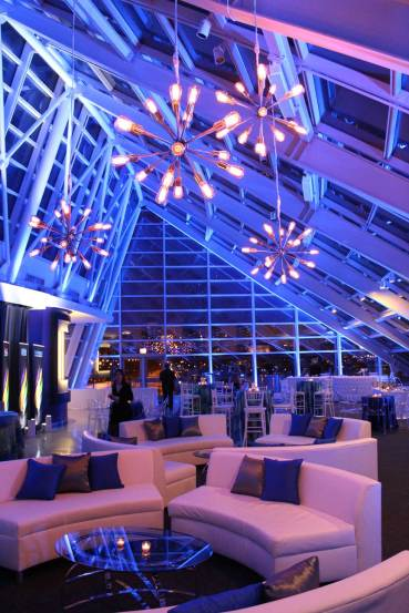 Lighting,-Sputnik-Chandeliers-and-Lounge-Sets-for-an-Adler-Planetarium-Corporate-Event