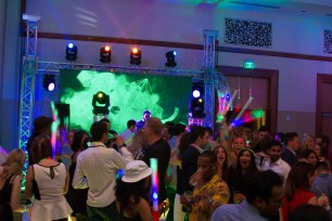 DJ, Lighting and LED Video Wall for a Corporate Event 2
