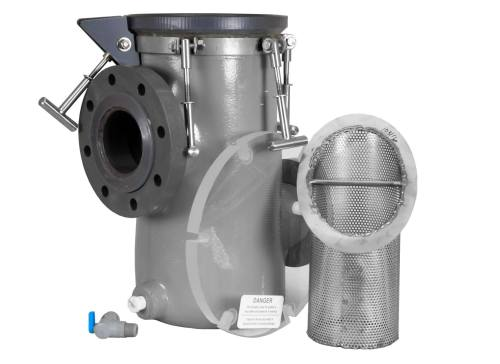 MDM Pumps Strainer Basket and Priming Pot