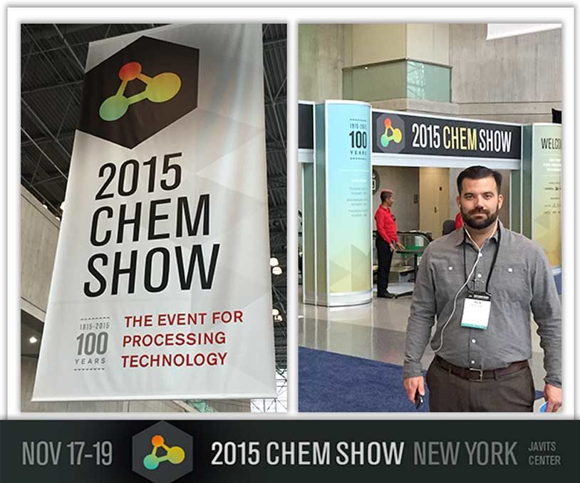 MDM Pumps 2015 Chem Show banner