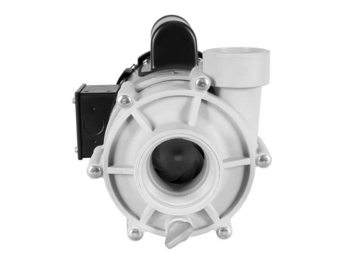 Sequence 750 Pump with black Marathon Motor front view