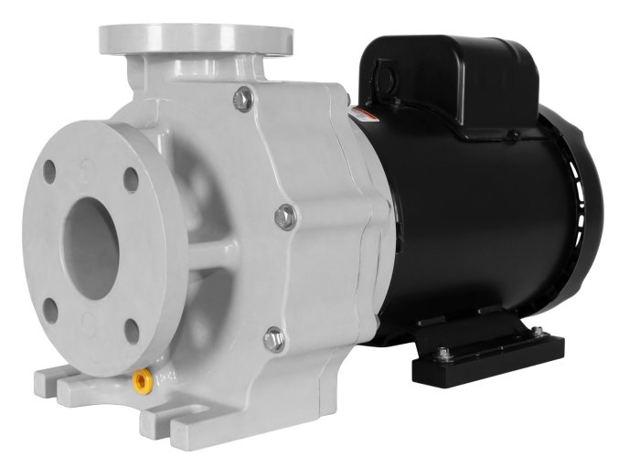 Sequence Titan Pump with black Marathon Motor right angle view