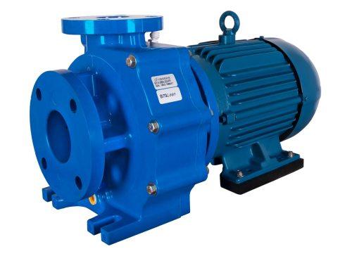 Genesys 3x2x6 with blue WEG Motor right angle view