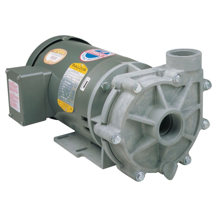 Advance 1000 Pump with Baldor Motor right side view