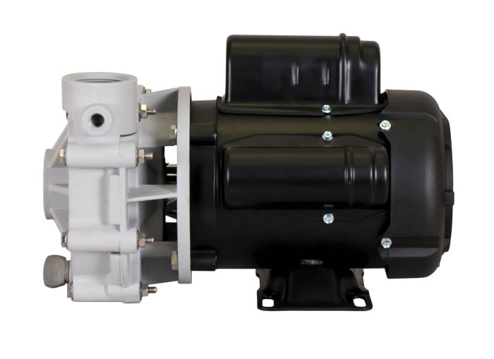 Sequence 1000 Pump with black Marathon Motor right side view