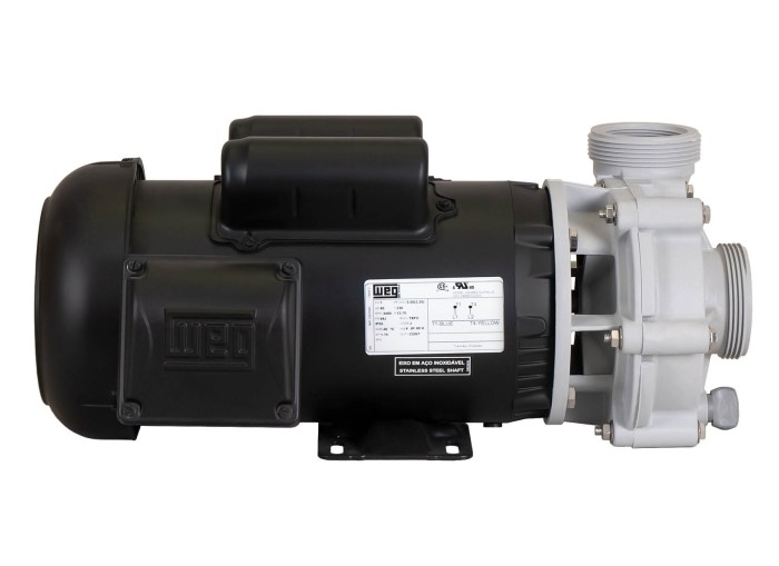 Sequence Power 4000 with black WEG Motor left side view