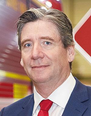 Nick Uwins is Managing Director of Rosenbauer UK.