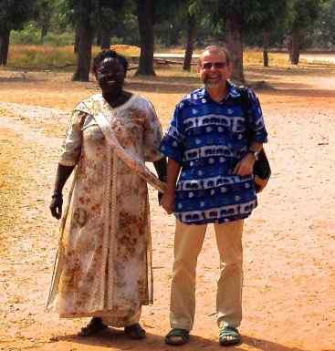 Main dans la main Sénégal