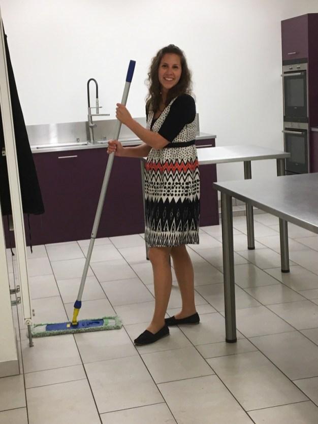 Rangement et nettoyage de la salle