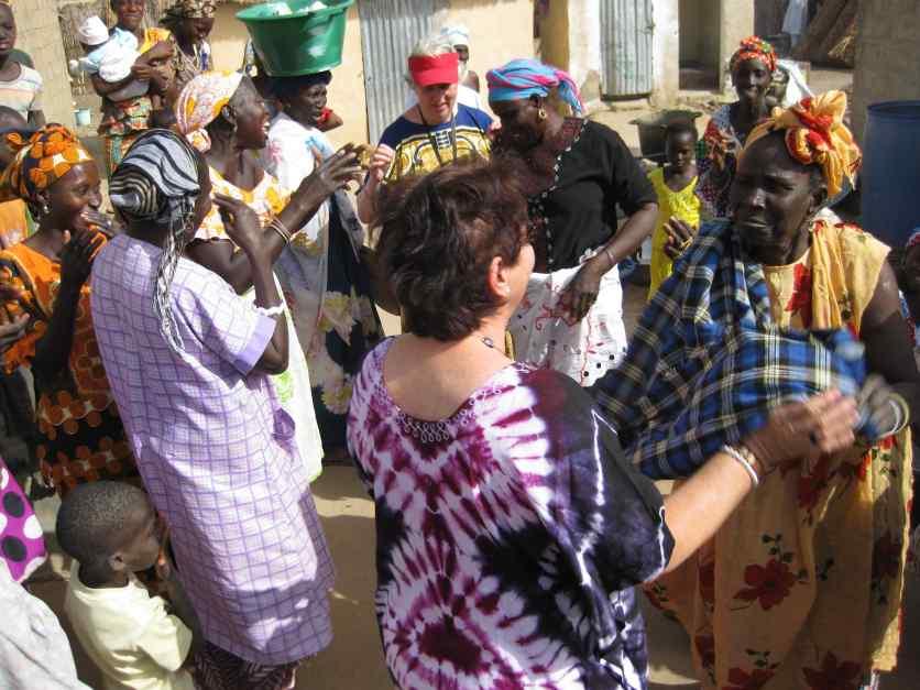 Visite des villageois Ndiathiang 20.12.14 - 18-2