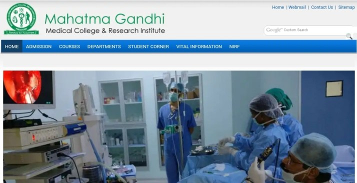 MS ENT at Mahatma Gandhi Medical College and Research Center (MGM) Pondicherry