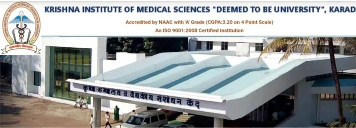 Krishna Institute of Medical Sciences Karad