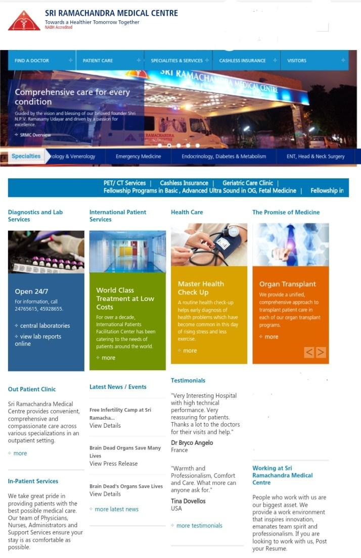 Ramachandra medical college