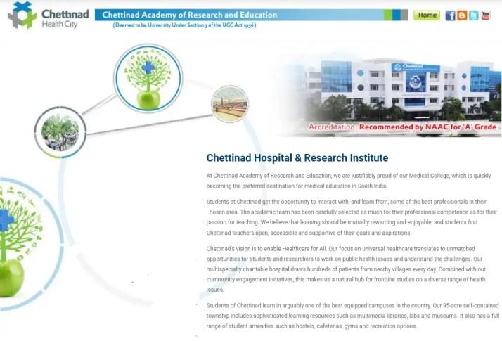 Chettinad Medical College