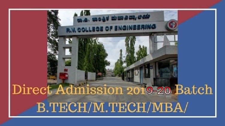 R.V College Direct Admission