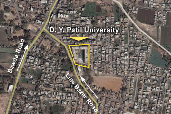 DY patil medical college Kolhapur location