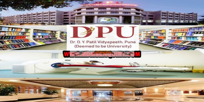 DY Patil Medical College Pune Admission