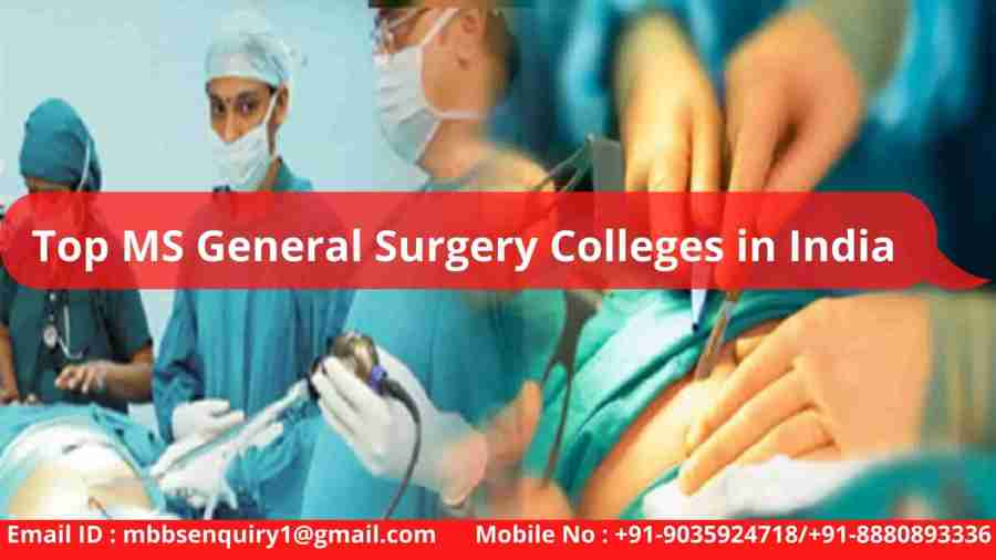 MS General Surgery Admission